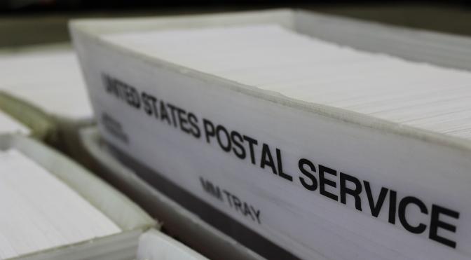 Postal Trays - Letter